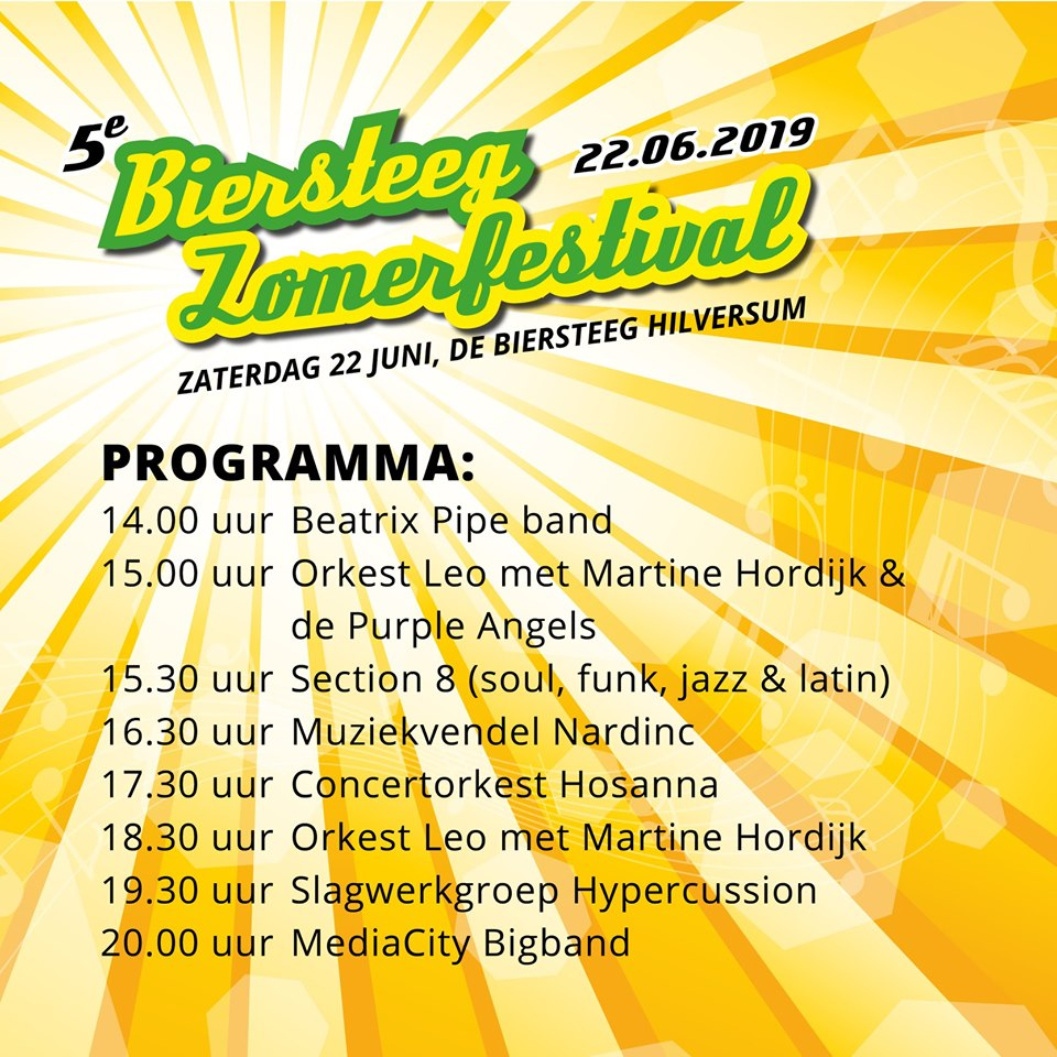 Biersteegfestival 2019